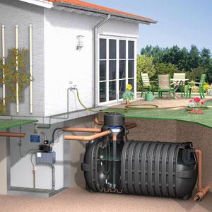 Regenwassernutzungsanlage