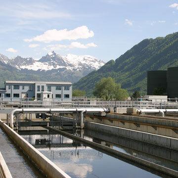 Abwassergebühren mit  Kläranlage
