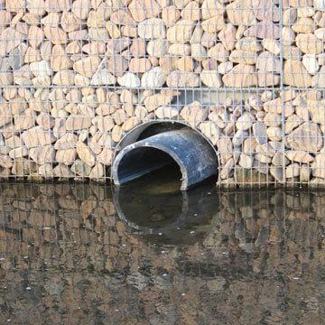 Einleitung von Regenwasser in ein Gewässer